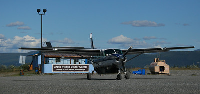 Wright Air has daily scheduled air flights to Arctic Village as well as many other out of the way villages in Alaska. At the Visitors Center, we meet and talked with Richard Voss, the manager of ANWR. We promise we will let him know how our visit turns out.