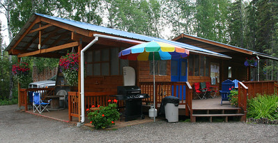 Hostels are great in Alaska. They provide space to sort gear and provide cheap convenient places to stay. Go North Hostel in Fairbanks has bunks, teepees, and tent sites. They provide travel information, showers, a kitchen, and storage lockers to leave gear while on your adventure.