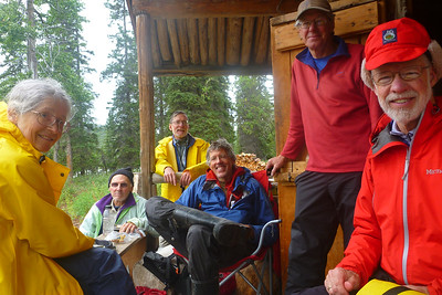 Day 1 - Chitina-Copper Float - Jakes Bar - Judi, Rich, Carl, Jeff, Brian, Pete. This is Day 1.