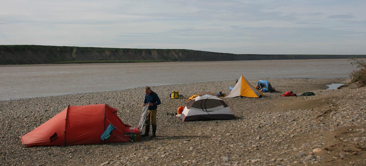 Camp 22 - Old Campsite Camp, aka Shrike Camp