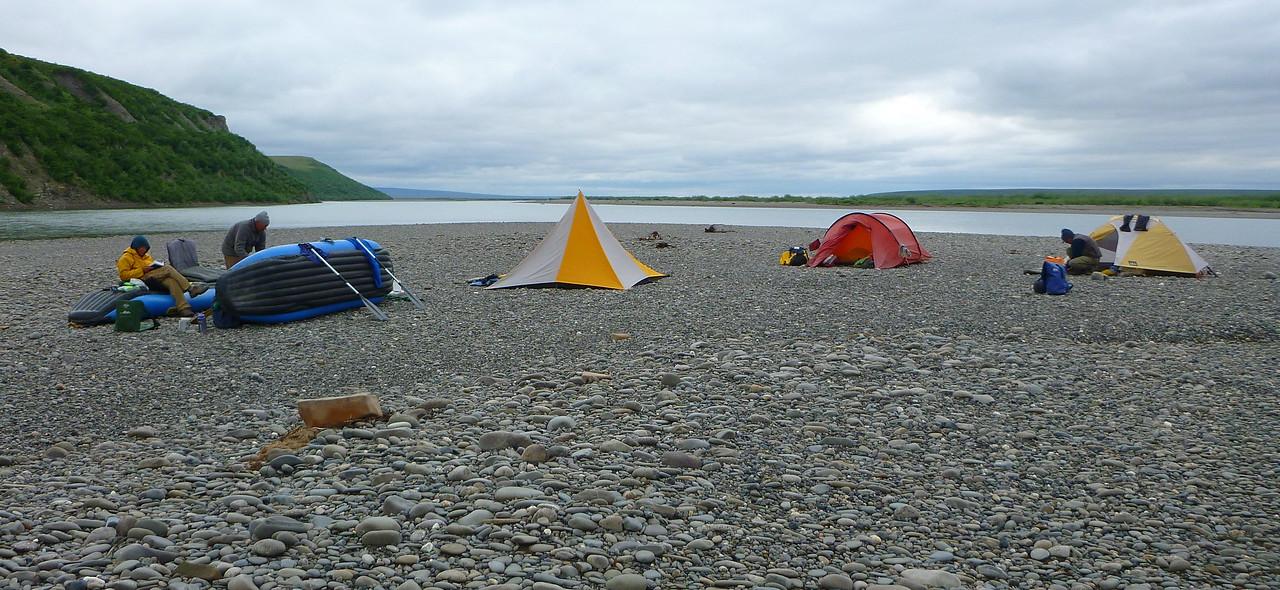 Camp 17 - Peninsula Camp, aka Gray Jay Camp