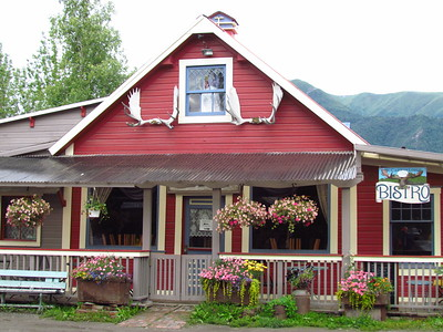 From Anchorage we were shuttled 300 miles east to McCarthy.  It was B&B (bar & brothel) town for Kennecott copper mine workers.