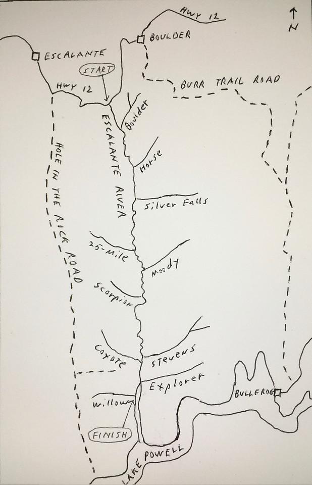 Escalante - Map