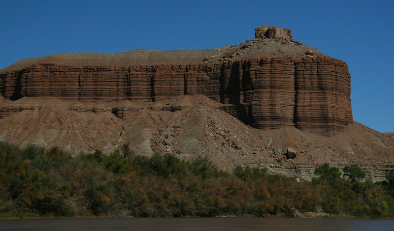 Dellenbaugh Butte was named by Powell on his trip down the river in 1871.