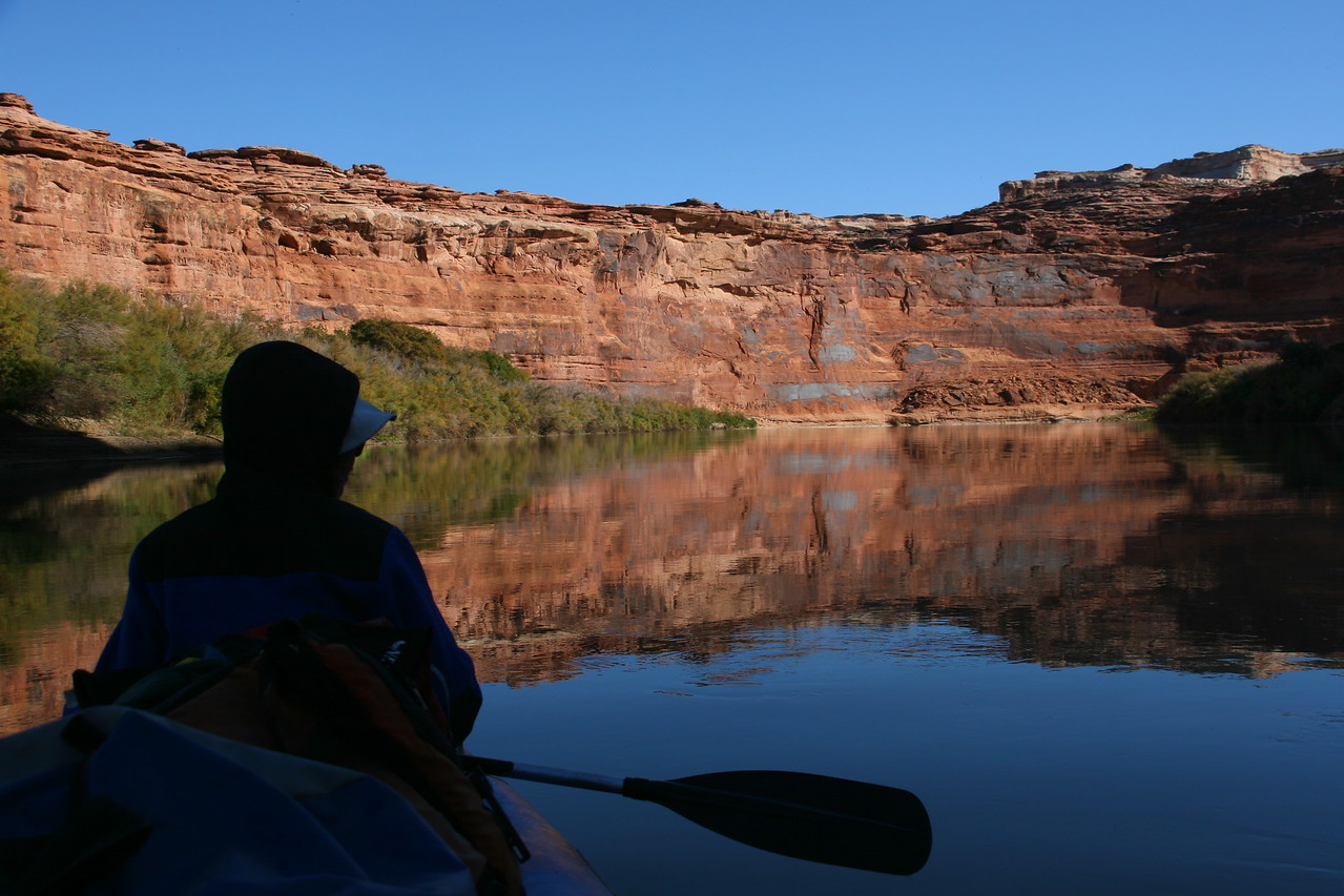 Typical paddling scenery