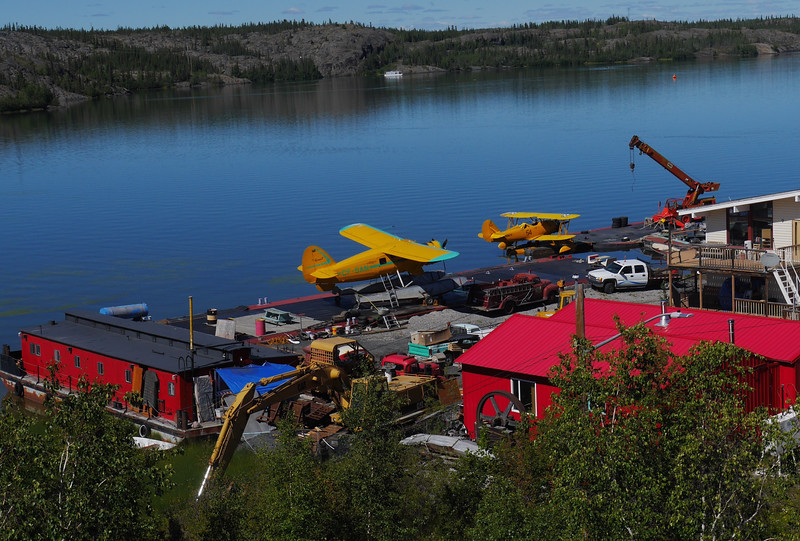 Yellow Knife, in Canada's North West Territories, is colorful physically and culturally