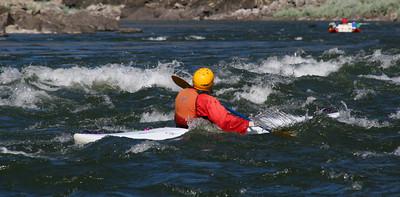 Rena in kayak