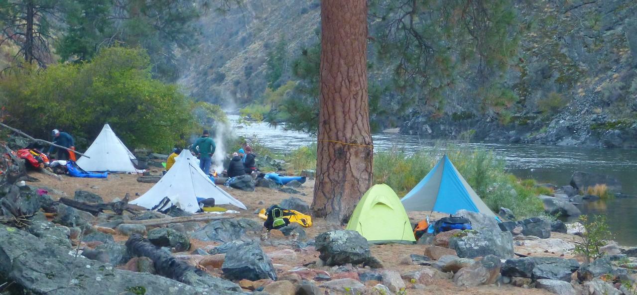 Wilson Creek Camp, Mile 72.5.