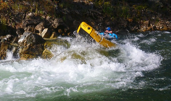 Jackass Island Rapid - Mark Oates.