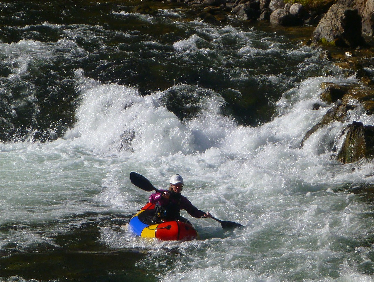 Pistol Creek Rapid - Jeny.