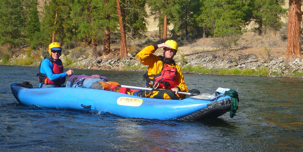 Brian and Nick are in the SOAR while I try out Nick's packraft for a couple of hours.