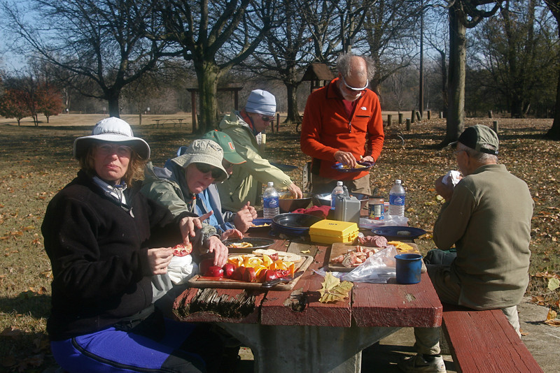 Lunch at state park