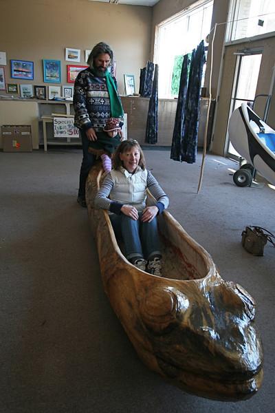 John Ruskey's canoe