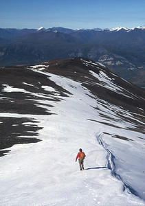 John O and I decend Oyukak Peak by a different route