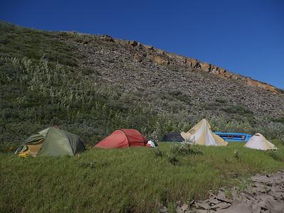 Camp 5 + 6  - Kokolik - Archimedes Ridge Camp