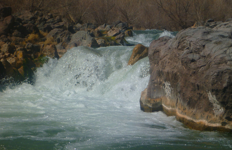 """You can see why we don't run """"Verde Falls"""" rapid"""