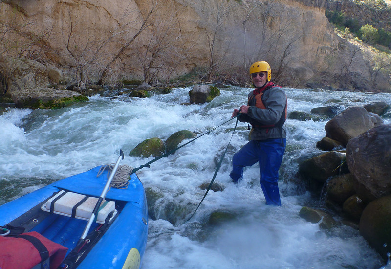 Palisades Rapid requires some lining.