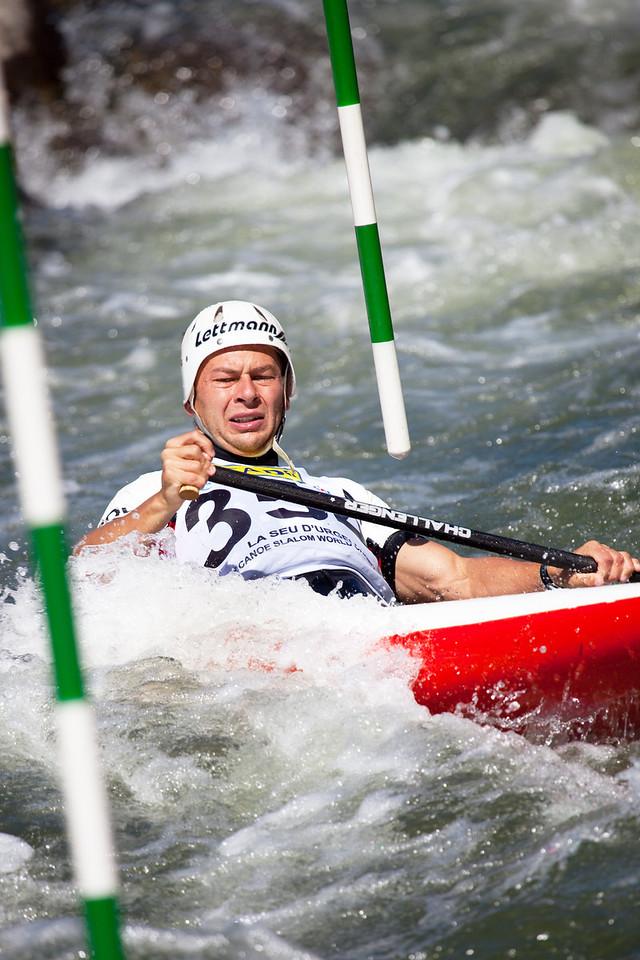 Grzegorz KILJANEK (Poland), C1 - ICF Canoe Slalom World Championships 2009, La Seu d'Urgell (Spain)