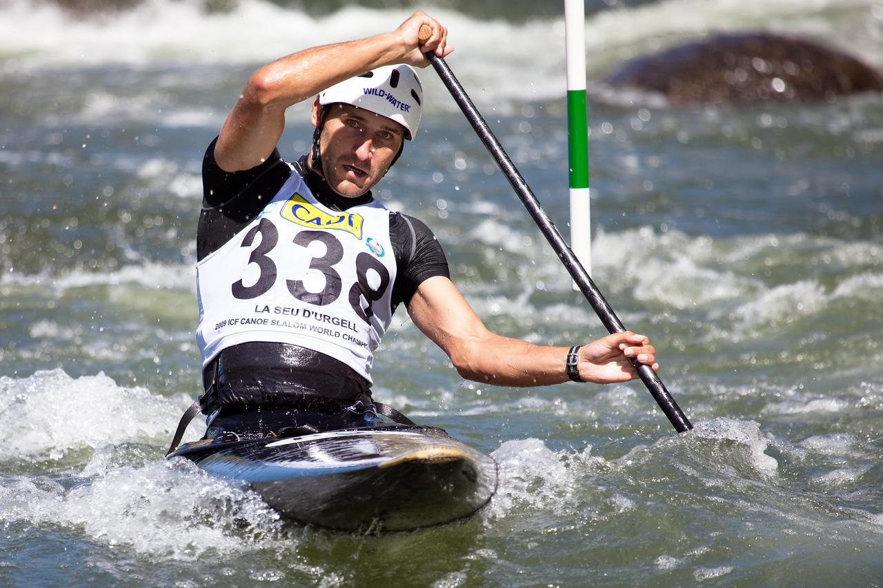 Grzegorz WOJS (Poland), C1 - ICF Canoe Slalom World Championships 2009, La Seu d'Urgell (Spain)