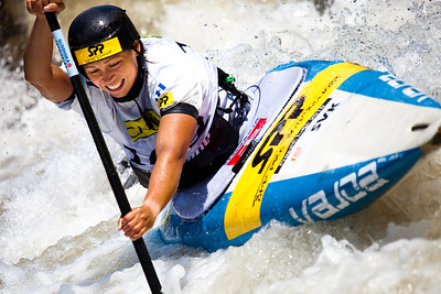 Katarina MACOVA (Slovakia), C1 Finals - ICF Slalom World Cup 2010, La Seu d'Urgell (Spain)