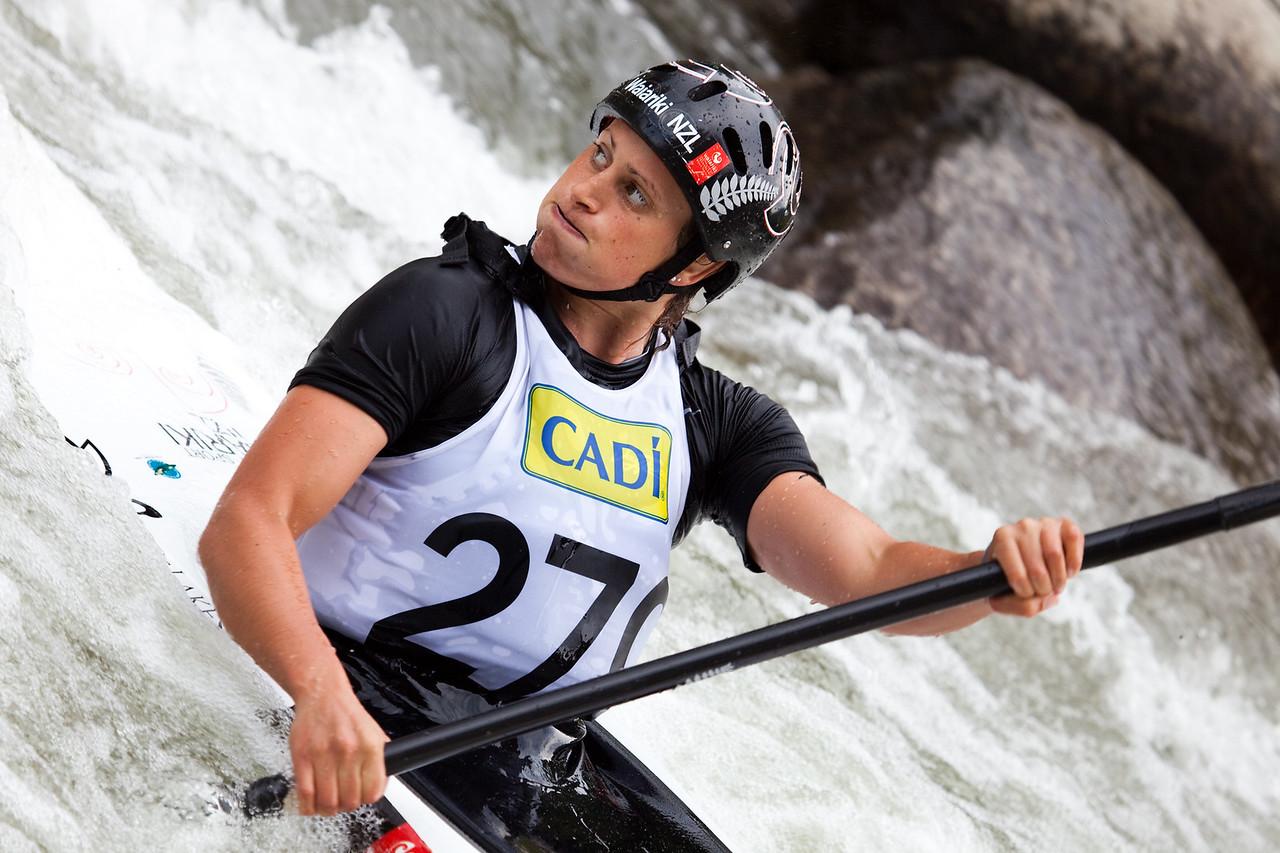 Luuka JONES (New Zealand), K1 Heats - ICF Slalom World Cup 2010, La Seu d'Urgell (Spain)