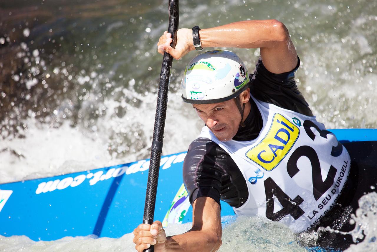 Alejandro CONTRERAS (Costa Rica), K1 - ICF Canoe Slalom World Championships 2009, La Seu d'Urgell (Spain)