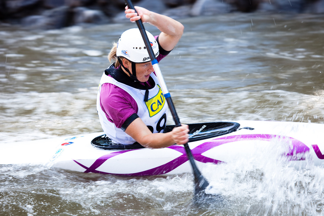 Sarah GRANT (Australia), K1 Semifinal - ICF Slalom World Cup 2010, La Seu d'Urgell (Spain)