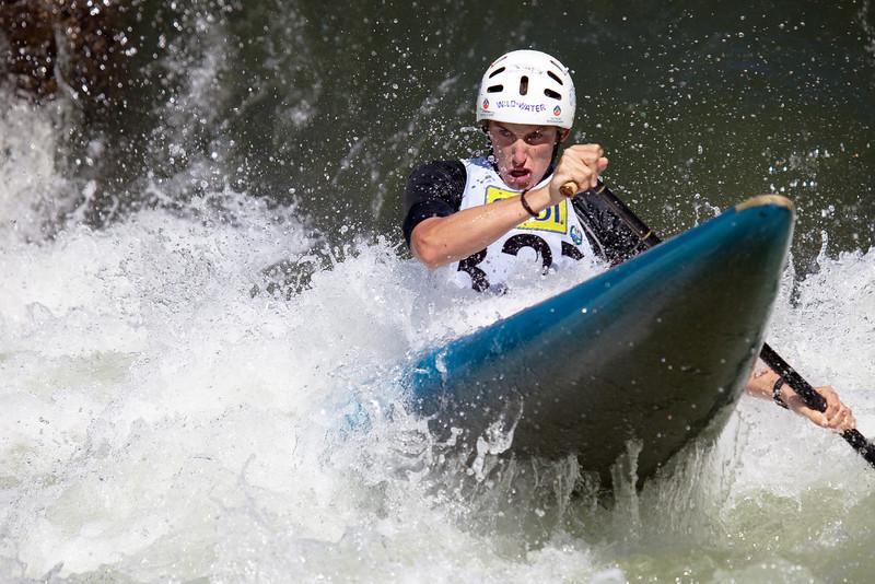 Ian BORROWS (Australia), C1 - ICF Canoe Slalom World Championships 2009, La Seu d'Urgell (Spain)