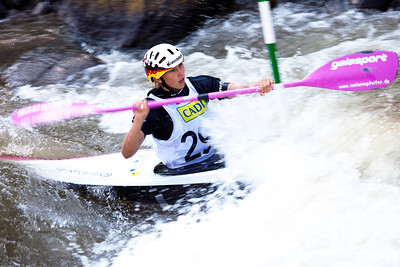 Melanie PFEIFER (Germany), K1 Semifinal - ICF Slalom World Cup 2010, La Seu d'Urgell (Spain)