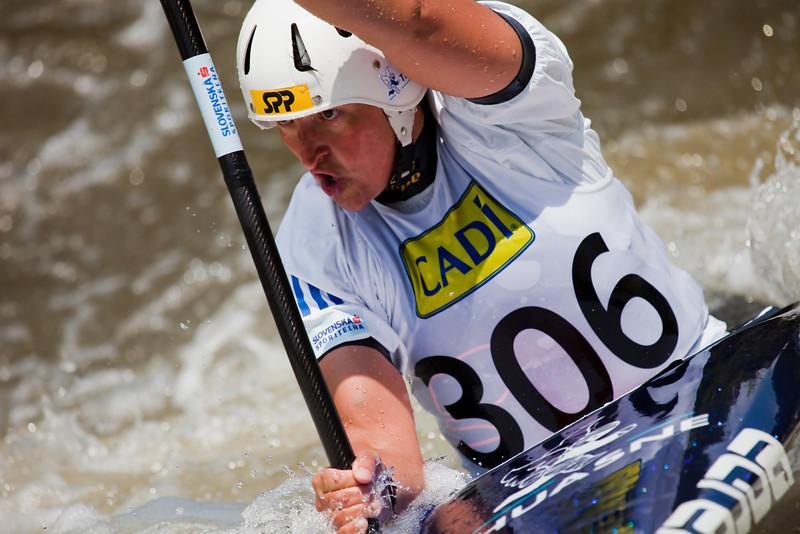 Elena Erza KALISKA (Slovakia), K1 Finals - ICF Slalom World Cup 2010, La Seu d'Urgell (Spain)