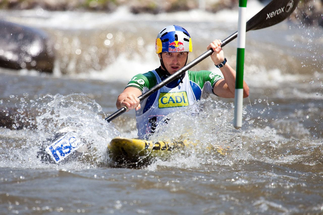 Peter KAUZER (Slovenia), K1 Finals - ICF Slalom World Cup 2010, La Seu d'Urgell (Spain)