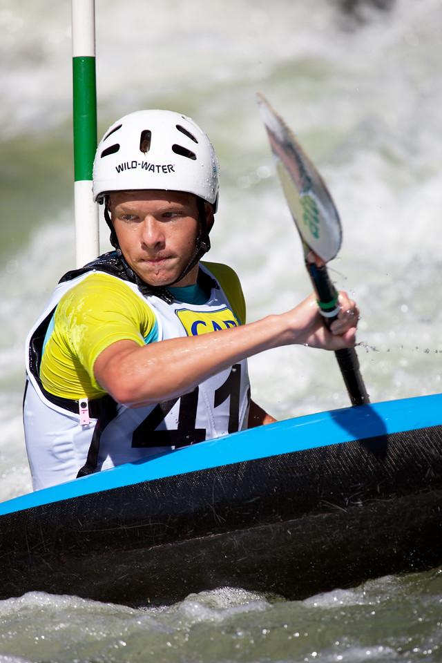 Teijo TARKKA (Finland), K1 - ICF Canoe Slalom World Championships 2009, La Seu d'Urgell (Spain)
