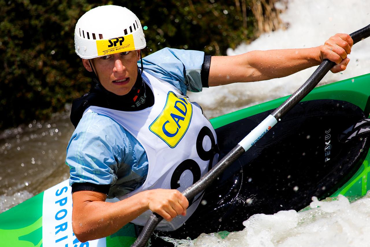 Dana  BENUSOVA (Slovakia), K1 Finals - ICF Slalom World Cup 2010, La Seu d'Urgell (Spain)