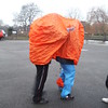 Pantomime horse at Canoe Trail in Bedfordshire