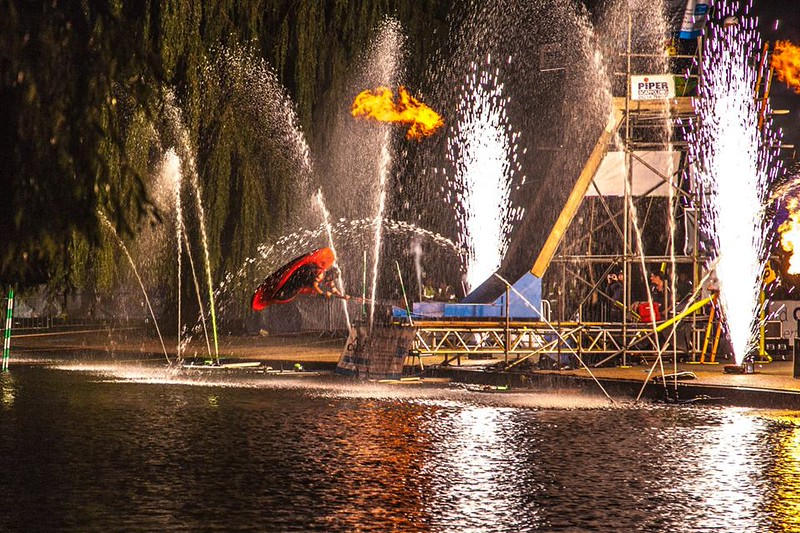 Bedford River Festival 2014 Big Air Ramp