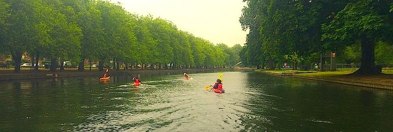 Charity Canoe Race