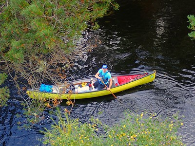 Canoeing the River Beauly Inverness