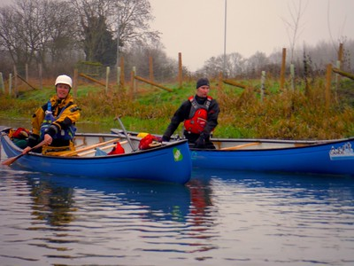 Canoeing the River Ivel