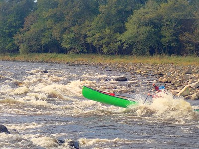 Canoeing the Spey (Best of Scotland) Canoe Trips