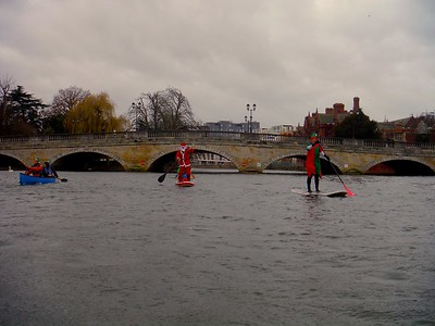 Christmas Eve Canoe Paddle