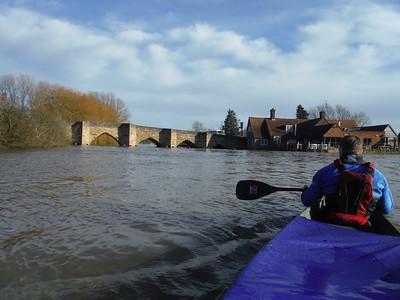 Devizes to Westminster Canoe Race Training
