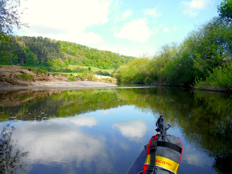 Canoeing the River Severn