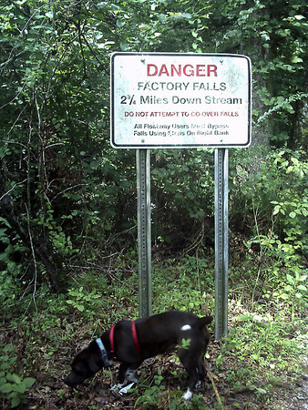1st of 3 danger signs before getting to factory falls