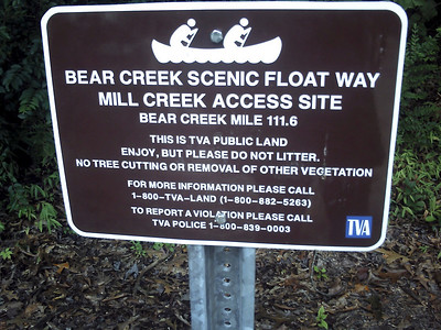 we did mill creek to past factory falls to Rock Quarry http://www.alabamawhitewater.com/guide/guide_files2/bearwest.htm