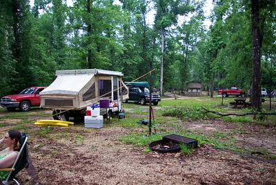 campsite and our pop-up