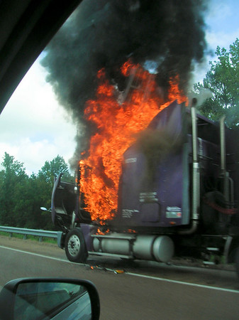 On I55 south of memphis on the way to the river.