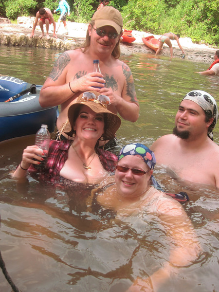 July Okatoma Float