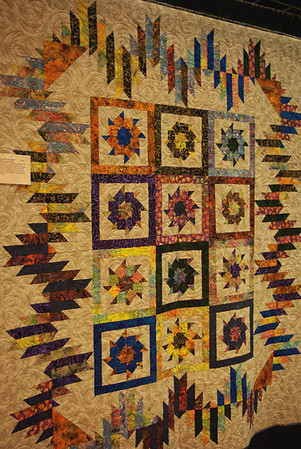 """Justin's Mystery Quilt"" Kathy Etheridge - Bogue Chitto, MS"