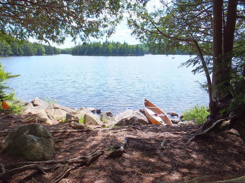 McGarvey Lake put-in