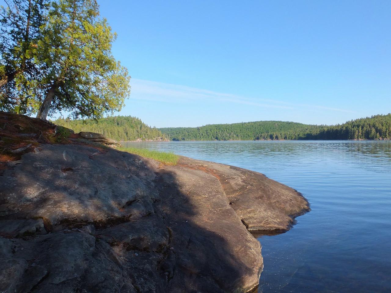 Morning on Lake Louisa